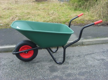 Novice allotmenteer's new barrow