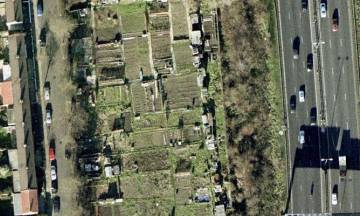aerial view: pic for allotment blog