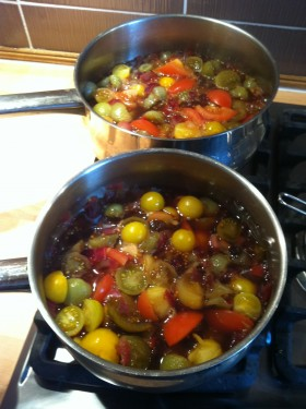 Novice allotment holder's chutney
